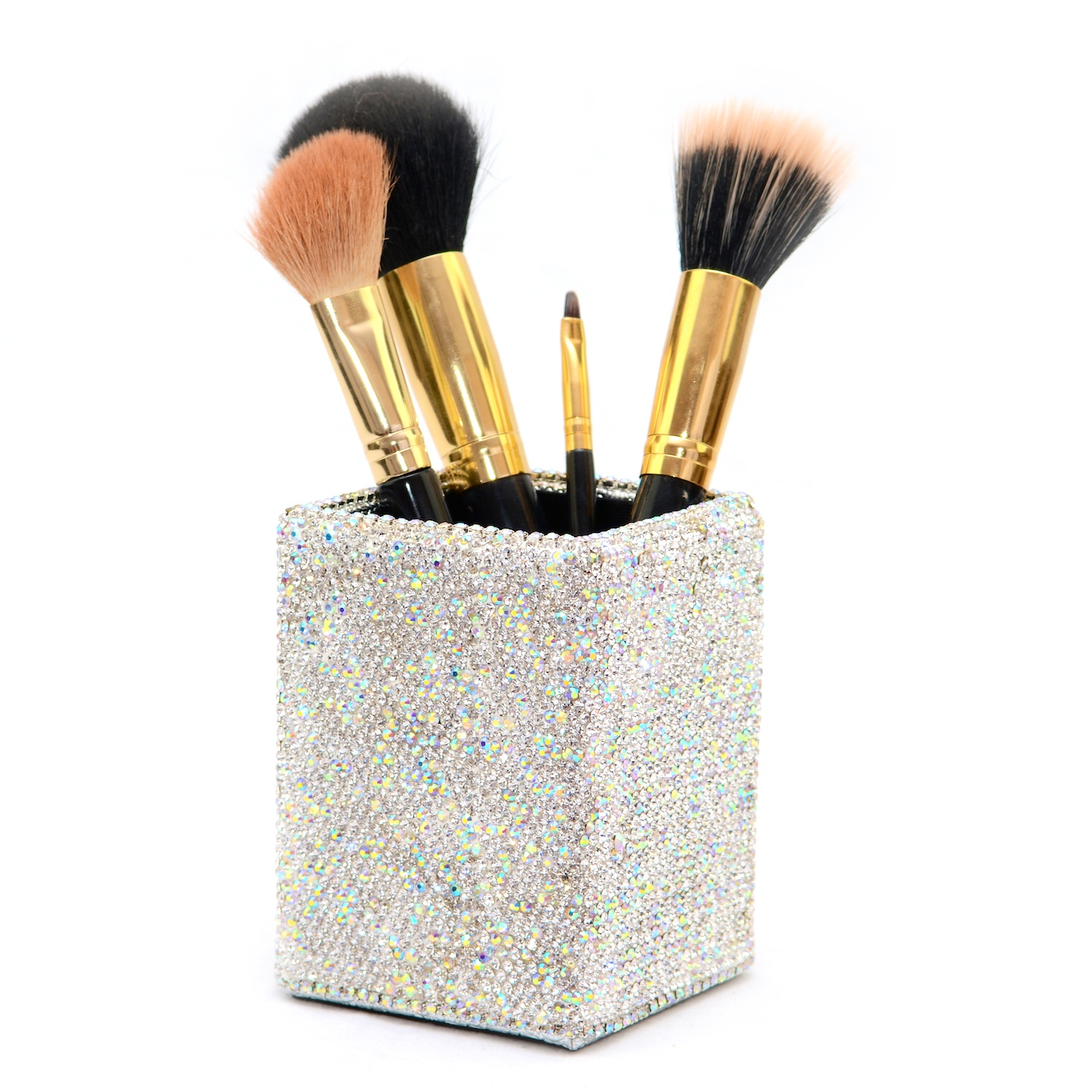 brush holder beads. diamante makeup brush holder beads