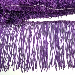 15cm Fringing Trim - Purple
