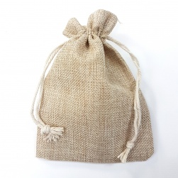 Hessian Gift Bag - Natural